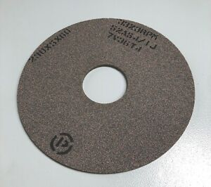 Brown Profile Grinding Wheel For Weinig Profile Grinders 60mm Bore Top Quality