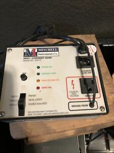 Mitchell Plep 01 Hipot continuity Tester For Dielectric Strength Testing