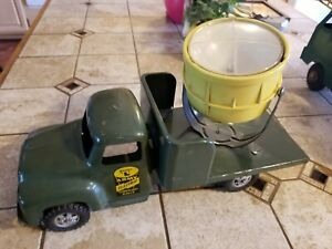 New Listingbuddy L Usa 1950s Army Electric Search Light Truck 1960s Vintage Tin Toy Metal