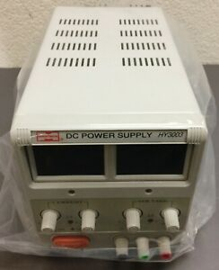 Mastech Hy3003 Benchtop Variable Linear Dc Power Supply 110vac 0 30v 0 3a