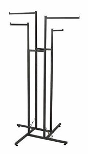 4 way Clothes Rack Straight Arms Vintage Boutique Style