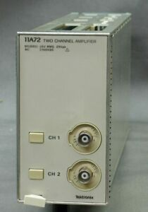 Tektronix 11a72 Two Channel Amplifier 1ghz Refurbed Tested Good Exc