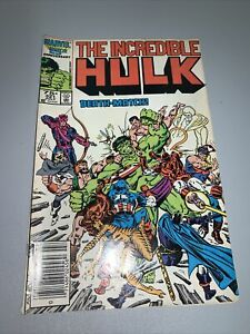 Incredible Hulk #321 signed by Stan Lee with Marvel July 1986 $20.00