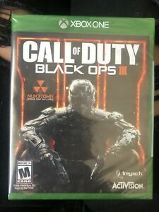 SEALED Call of Duty: Black Ops 3 Standard Edition Xbox One Microsoft Xbox One $50.00
