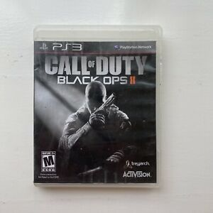 Call of Duty COD Black Ops II 2 PS3 CIB Sony PlayStation 3 2012 Tested Works $7.99