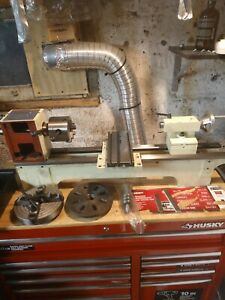 G4000 M1049 Metal Lathe Headstock And 3 Jaw Chuck