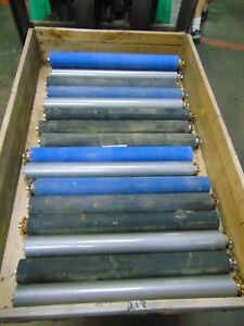 17 Used Heavy Duty Chain Driven Conveyor Rollers