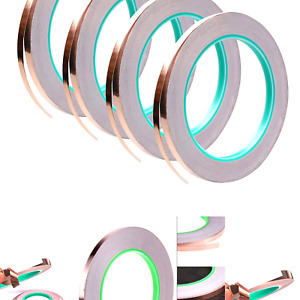 4 Pack Copper Foil Tape double sided Conductive With Adhesive For Emi Shieldi