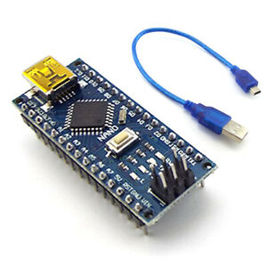 Nano V3 0 Usb Atmega328p 16mhz Micro controller Ch340g Board With Cable For Ard