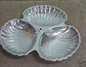 8 Vintage Iruinware Silverplate Condiment Candy Dish