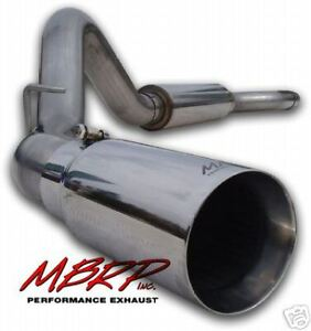 Mbrp 4 Cat Back Exhaust 409 Stainless 06 07 Silverado Sierra Duramax 6 6l