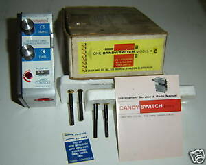 Candy Control Switch Model Ac Rotary Motion Control