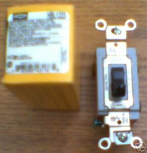 Hubbell Hbl1223 Switch 20 Amp 120 277 Volt Toggle 1223