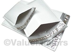 1000 0 poly 6 x10 Bubble Mailers Padded Envelopes Bags Cd Dvd 6 5 X 10