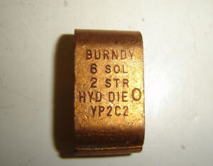 Burndy Yp2c2 Compression Grounding Run Tap Connector