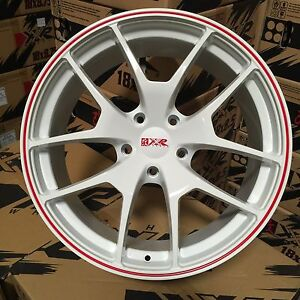 19 Xxr 518 Wheels Rims White Red Stripe 5x120 04 05 06 Pontiac Gto 6 0 Concave