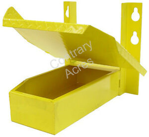 John Deere A B G 50 60 70 Step Toolbox Assembly