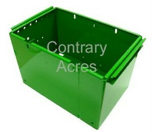 John Deere 520 530 620 630 Battery Box Powder Coated