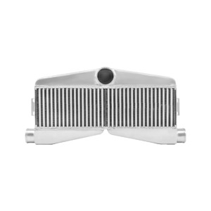 Cxracing Twin Turbo Intercooler 27 5 x13 x3 5 2 in 1 out For Camaro Chevy