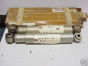 Nos 1965 Dodge Coronet plymouth Belvedere satellite Mopar Shocks