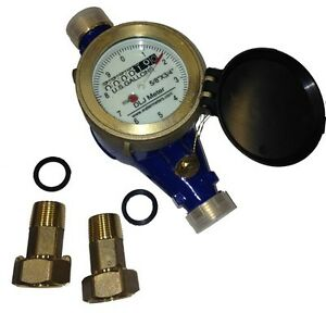 Bronze Water Meter New accurate And Reliable No Lead Bronze