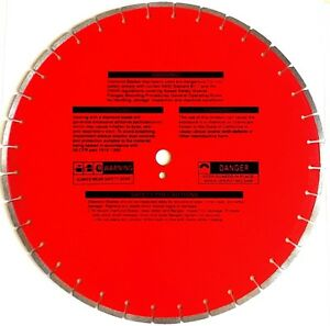 20 Laser Welded 155 Thick Reinforced Concrete Hard Aggregate Diamond Blade