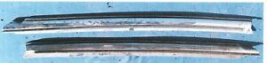 Corvette L R Windshield Post Molding 73 To 77 Used