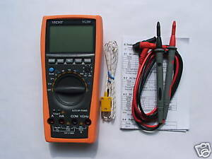 Vc99 5999 Auto Range Multimeter Tester Dmm Buzz Analog Bar Rcfac Vs Fluke 17b