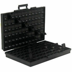Aidetek Box all as Esd Safe Smd Organizer 144 Compartments W lid Labels Diodes