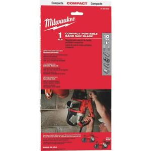 Milwaukee 48 39 0508 35 3 8 In 10 Tpi Compact Band Saw Blade 1 Pk In Stock