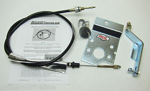 1965 66 Mustangs T5 t45 t56 tko Clutch Cable Kit