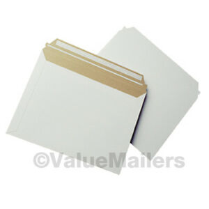 250 12 5x9 5 Rigid Photo Mailers Stay Flats