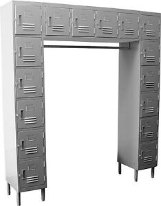 Gsw 16 Tiers doors Premium Steel Employee Locker Els 16dr