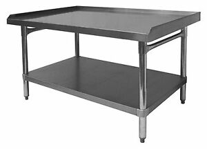 Ace All Stainless Steel Professional Equipment Stand 30 w X 24 5 l Etl Es p3024