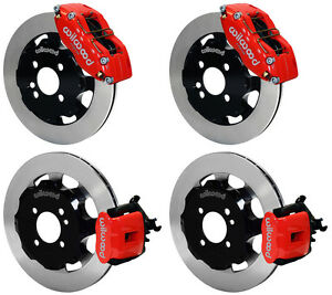 Wilwood Disc Brake Kit Complete Mini Cooper S Bmw 12 Rotors Red Calipers