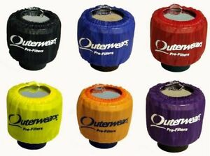2 New Outerwears Valve Cover Breather Covers pre filter