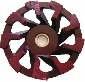 4 Diamond Cup Wheel For Masonry Faces And Concrete 2pk