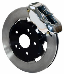 Wilwood Disc Brake Kit front 02 06 Acura Rsx 04 05 Civic Hb Si 12 polished Cal