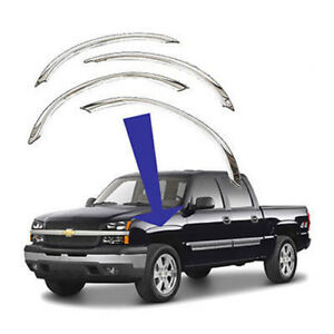 For Chevrolet Gmc Truck Suv Polished Stainless Fender Trim