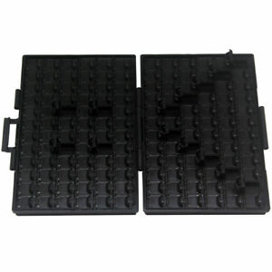 Aidetek Box all Esd Safe Smd Resistor Organizer W 144 Compartments Lids Ic Chips
