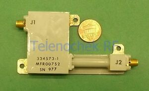 Rf If Microwave Bandpass Filter 3 0 Ghz Cf 1 1 Ghz Bw Power 5 Watt Cw Data