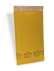 500 00 5x10 Kraft Bubble Mailers Padded Envelopes