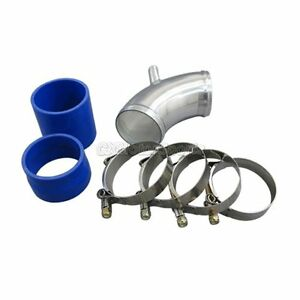 Cxr 2 75 Cold Air Intake Pipe For Bmw E30 Turbo Throttle Body Pipe Blue Hose