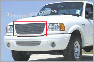 2001 2003 Ford Ranger 4wd edge Billet Grille upper