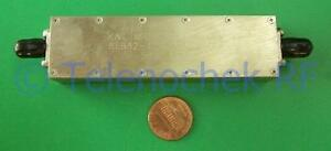 Rf If Microwave Bandpass Filter 127 Mhz 30 Mhz Bw Power 15w Data