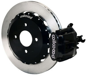 Wilwood Disc Brake Kit Rear Honda Acura 11 Rotors 140 10206 Black Calipers