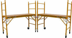 2 Mfs Scaffold Rolling Tower 29 w X 6 h Deck W U Lock