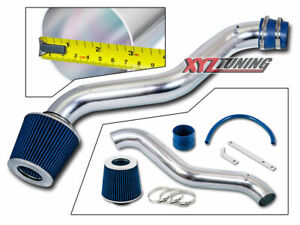 3 Blue Jdm Short Ram Air Intake Induction Kit Filter For 98 02 Accord 2 3l L4