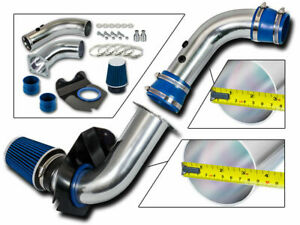 3 5 Blue Cold Air Intake Induction Kit System filter For 94 98 Mustang 3 8l V6