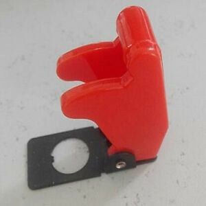 1pcs Toggle Switch Red Safety Cover Guard Military Airline Racing Style 12mm
